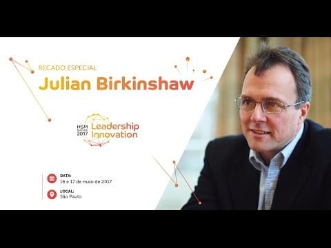 HSM Summit | Convite Especial de Julian Birkinshaw