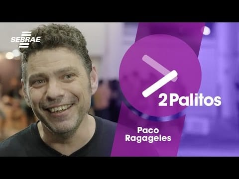 PACO RAGAGELES – Fundador da Campus Party // 2 PALITOS