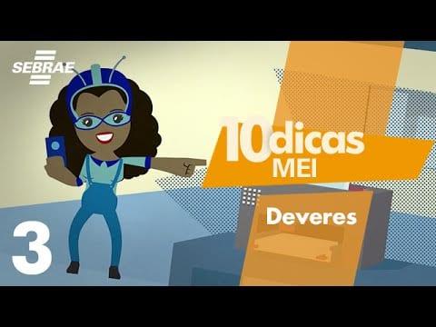 3 – Deveres do MEI // 10 DICAS para o Microempreendedor Individual (MEI)