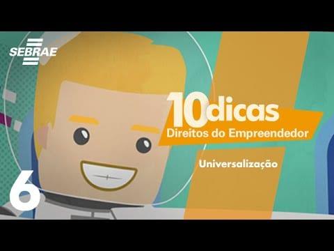6 – Tributação diferenciada para mais atividades empresariais // Direitos do Empreendedor