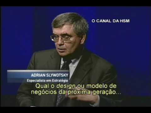 Assista uma parte da palestra de Adrian Slywotsky especialista em estratégia