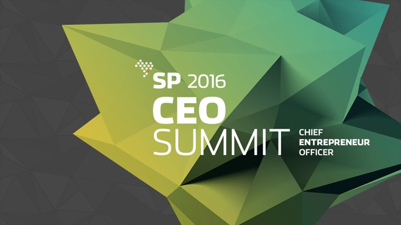 CEO Summit 2016 | Transmissão ao vivo completa