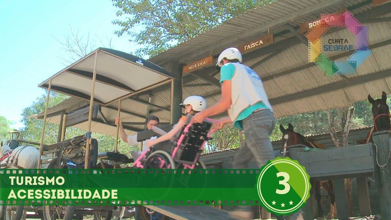 Curta Sebrae – Turismo // Hotel Fazenda Campo dos Sonhos (Acessibilidade)
