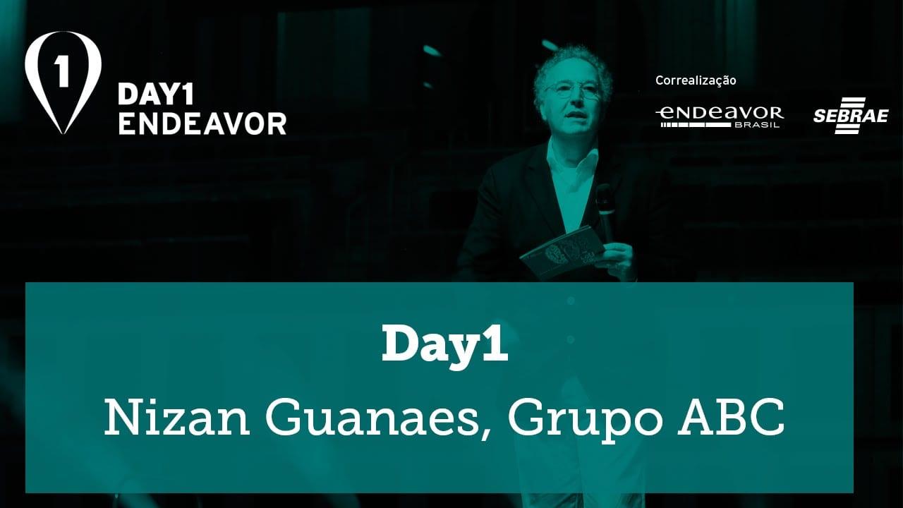 """Day 1   """"Eu ganhei muita coisa perdendo"""" – Nizan Guanaes, Grupo ABC"""