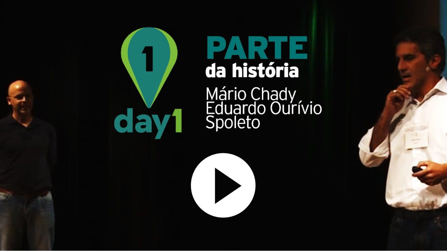 Day1 | Parte da história – Eduardo Ourivio e Mário Chady [Spoleto]