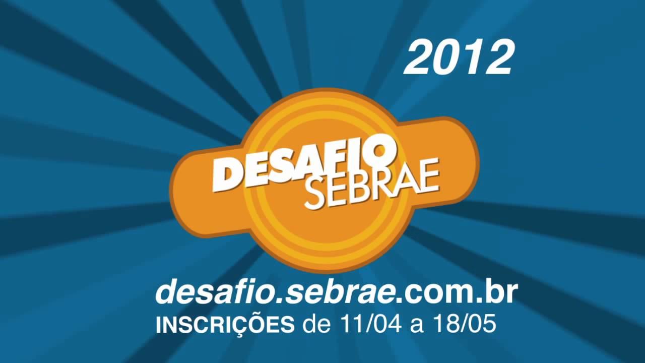 Desafio Sebrae – Manifesto 2012