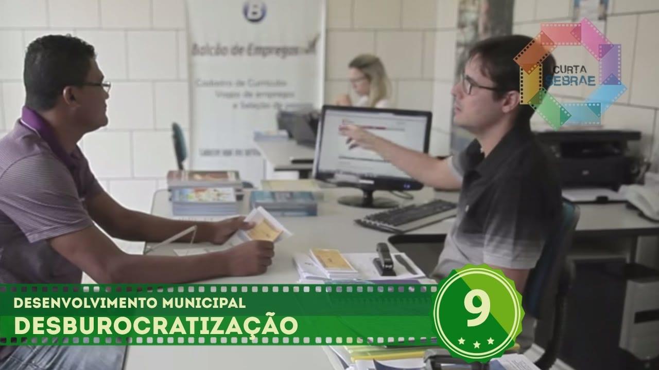 Desburocratização (Guanambi/BA) // Desenvolvimento Municipal