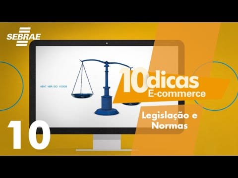 E-commerce // 10 – Legislação e Normas