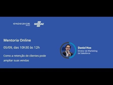Mentoria Online | Como a retenção de clientes pode ampliar suas vendas