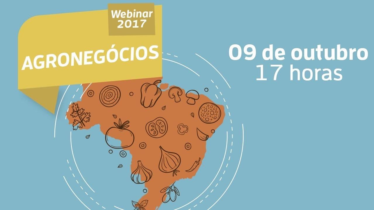 Webinar – Agronegócios: Diferencie seus produtos e conheça novas oportunidades de mercado